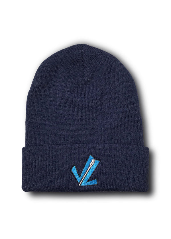 Knit Throwback Logo Beanie
