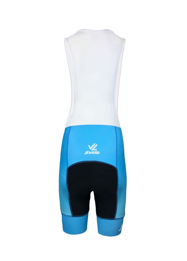 Women's Atlas Blue Team Ringer Bibshorts