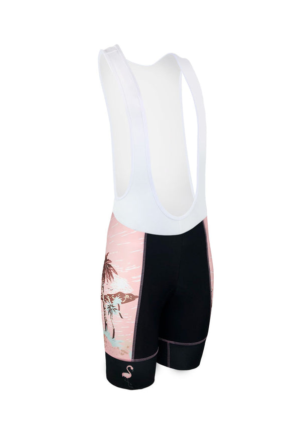 Women's Tropic Like It's Hot Team Ringer Bibshorts