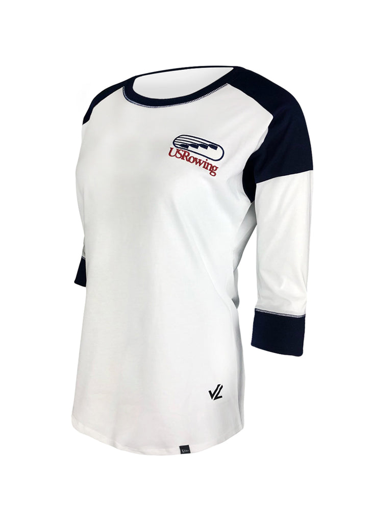 USRowing Women's Raglan Tee