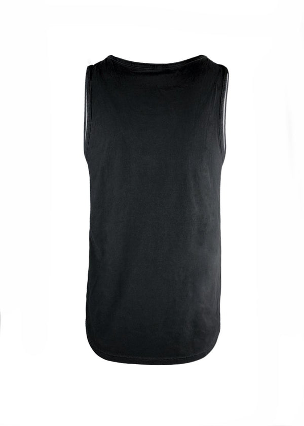 Men's Sunset Tank Black