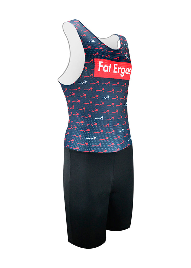 rowing unisuit zootie allinone AIO Fat Ergos Men's Unisuit Navy Fat Ergos $50-$100, Men's, Unisuit $84.95 Size XSmall  JLAthletics