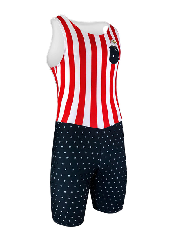 rowing unisuit zootie allinone AIO Men's Pocket Eagle Unisuit JL Racing $50-$100, Men's, Unisuit, USA $84.95 Size XSmall  JLAthletics