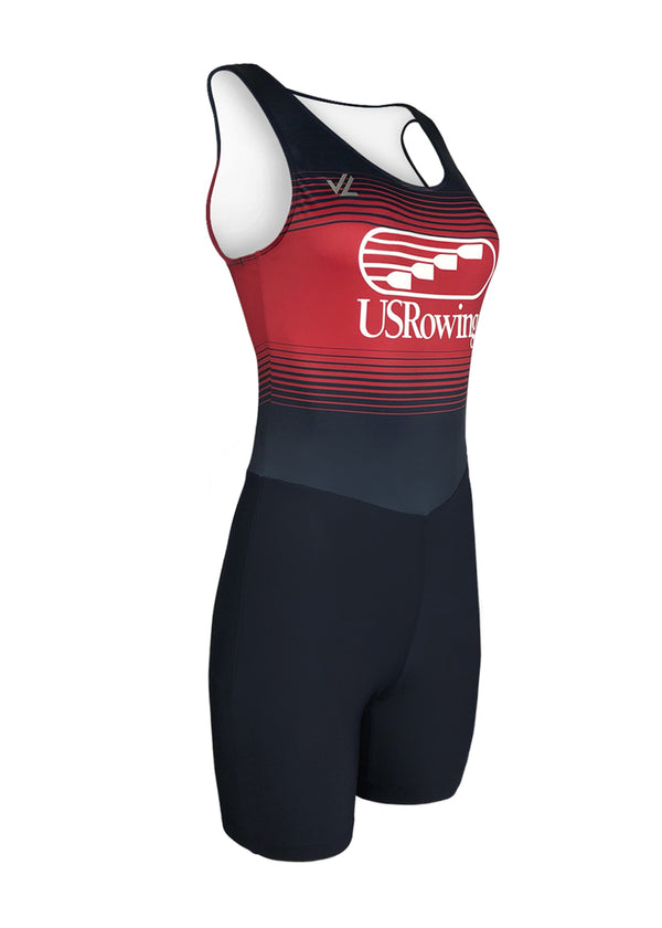 rowing unisuit zootie allinone AIO USRowing Women's Unisuit Fade US Rowing $50-$100, Unisuit, USA, Women's $84.95 Size XSmall  JLAthletics