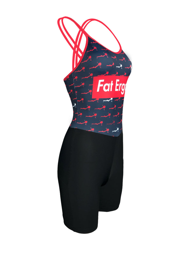 Fat Ergos Women's Tangled Unisuit Navy