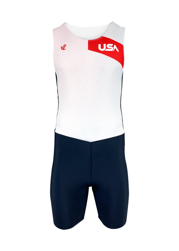 rowing unisuit zootie allinone AIO Men's Tokyo 2020 Unisuit White JL Racing $50-$100, Men's, Unisuit, What's New $86.95 Size XSmall  JLAthletics