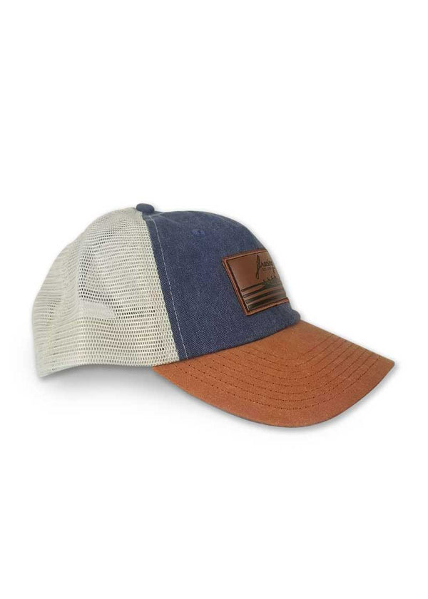JL Racing Leather Patch Hat