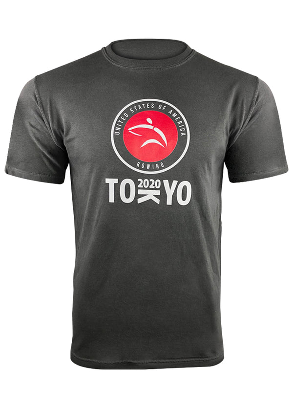 Tech Shirts Technical Shirts Performance Top Performance Tank Workout Top Long Sleeve Short Sleeve Tshirt Tokyo 2020 Charcoal Tee JL Racing $10-$50, Casual, Men's, Short Sleeve, Tee Shirts, Tops, What's New, Women's $29.99 Size XSmall  JLAthletics