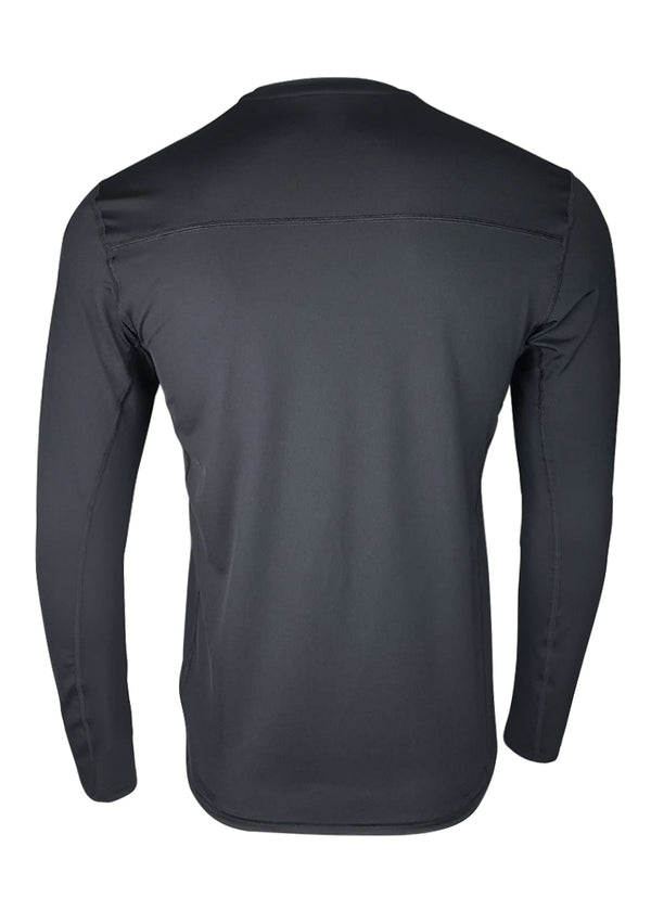 Loose-Fit Performance Tech Shirt Black