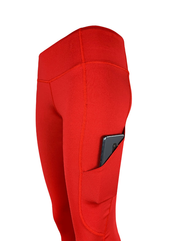 Women's JL Red Luxe Extended Legging with Pocket