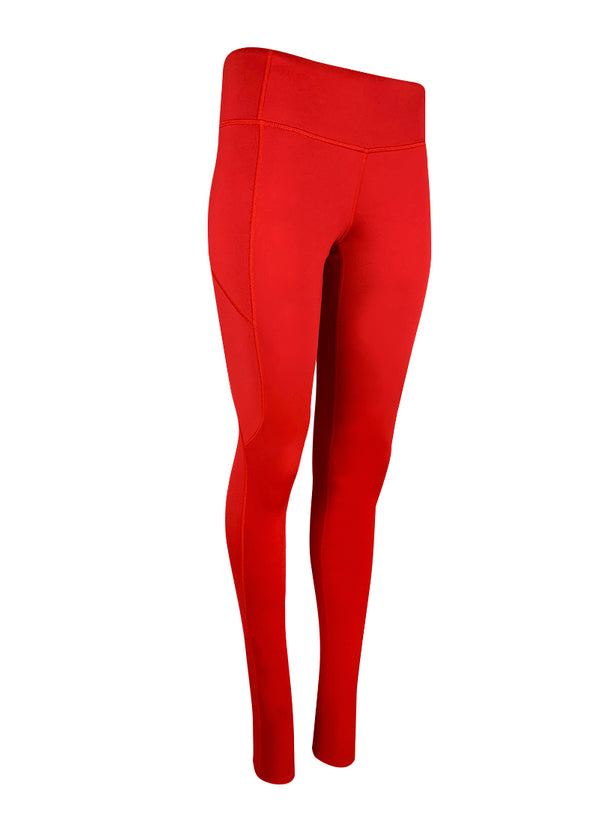 custom suit suits unisuit AIO all in one zootie team store customized Women's JL Red Luxe Extended Legging with Pocket JLAthletics $50-$100, Bottoms, Leggings, Tights, What's New, Women's $69.00 Size XSmall  JLAthletics