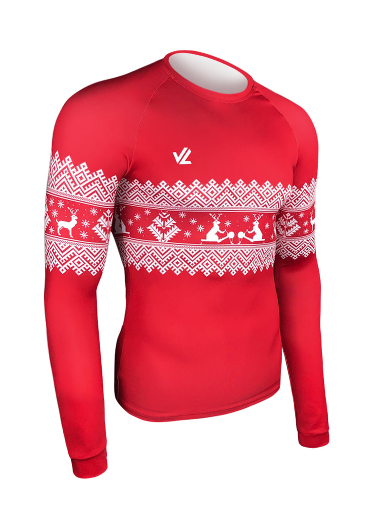 Long Sleeve Holiday Tech Shirt