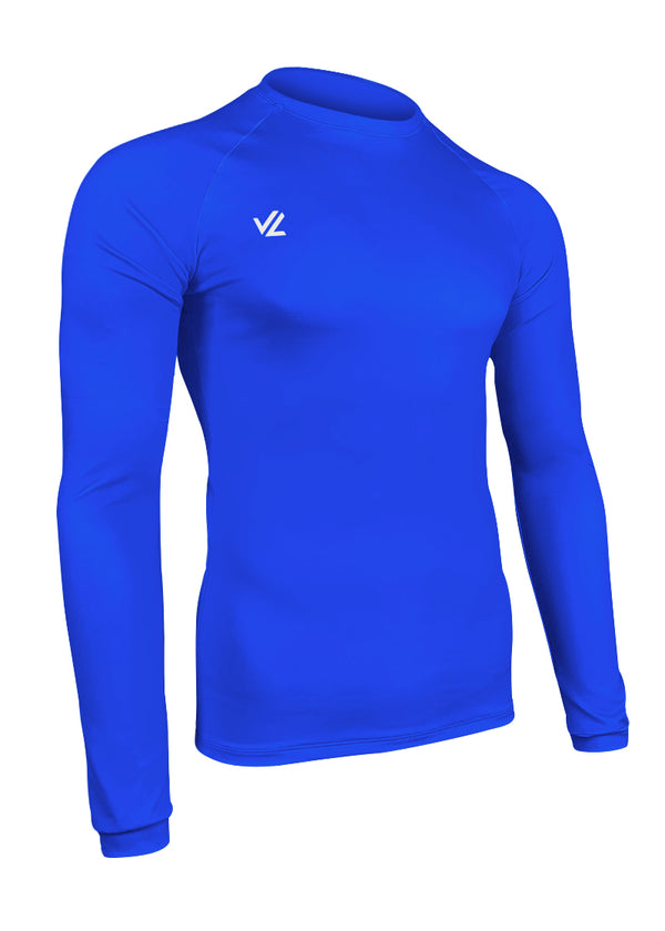 Drywick Long Sleeve Tech Shirt Royal Blue