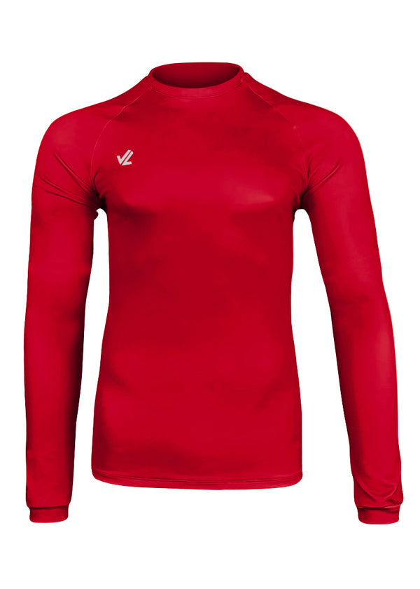 Drywick Long Sleeve Tech Shirt Red