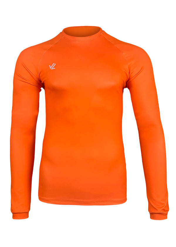 Drywick Long Sleeve Hi-Viz Orange