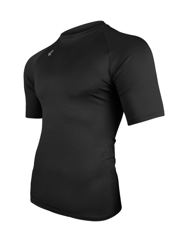 Classic Short Sleeve Tech Shirt Black