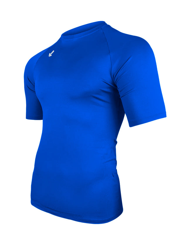 Classic Short Sleeve Tech Shirt Royal Blue