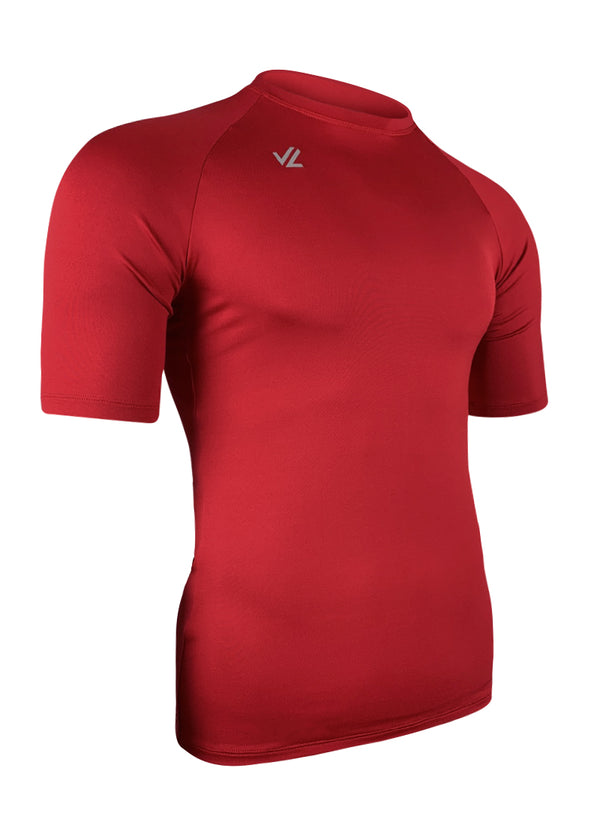 Classic Short Sleeve Tech Shirt Red