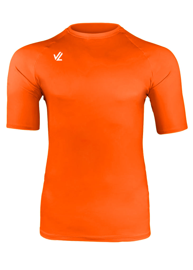 Classic Short Sleeve Tech Shirt Hi-Viz Orange