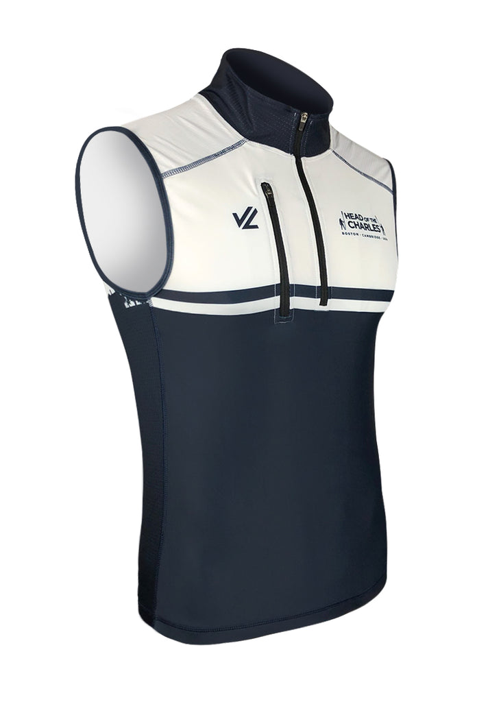 Men's HOCR Turtleshell Vest Navy/White