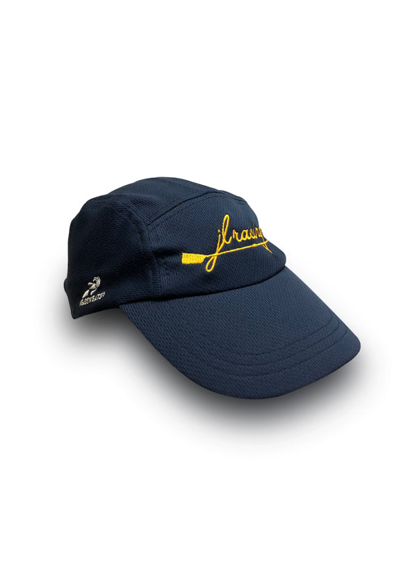 JL Script Logo Running Hat Navy JL Racing $10-$50, Accessories + Warmers, Hats + Headbands, JL Hat, Men's, Performance Hat, What's New, Women's $24.95 Color Navy  JLAthletics
