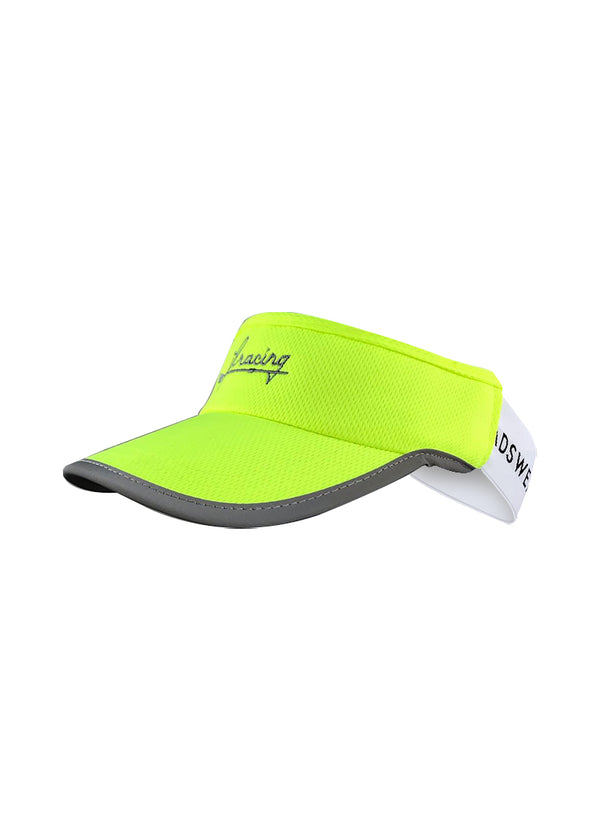 Hi Viz high visibility Hi-Viz Reflective Hi-Viz Script Visor JL Racing $10-$50, Accessories + Warmers, Hats + Headbands, Hi-Viz Gear, JL Hat, Men's, Visor, What's New, Women's $34.95 JLAthletics