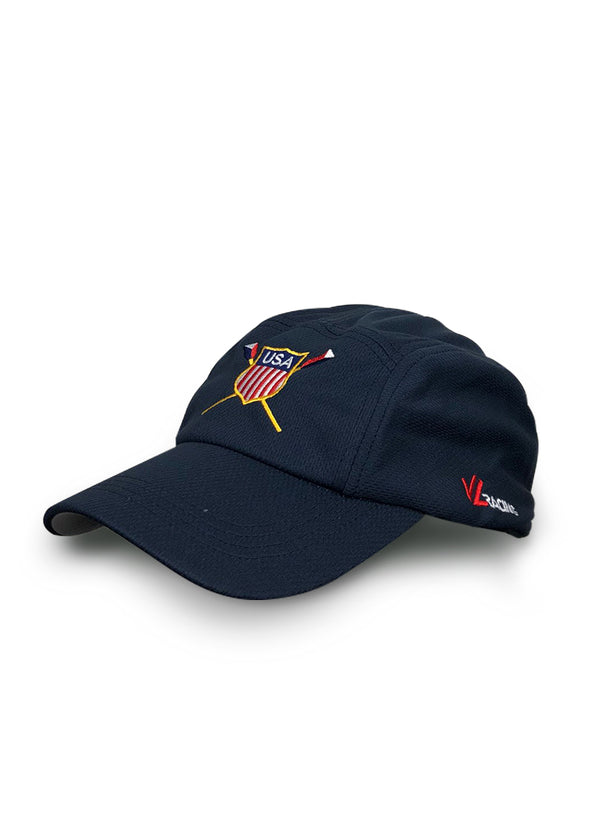 USRowing Crest Tech Hat Navy US Rowing $10-$50, Hats + Headbands, JL Hat $24.95 JLAthletics