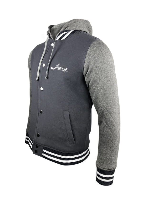 Hooded JL Letterman Jacket