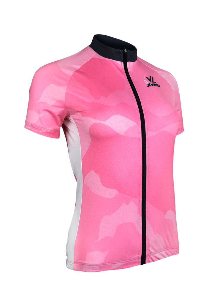 Women's Team Stretch Jersey Pink Camo