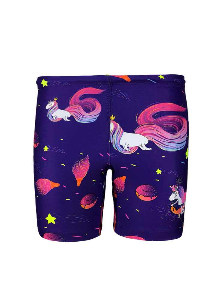 Women's Short Cut Unicorn Trou