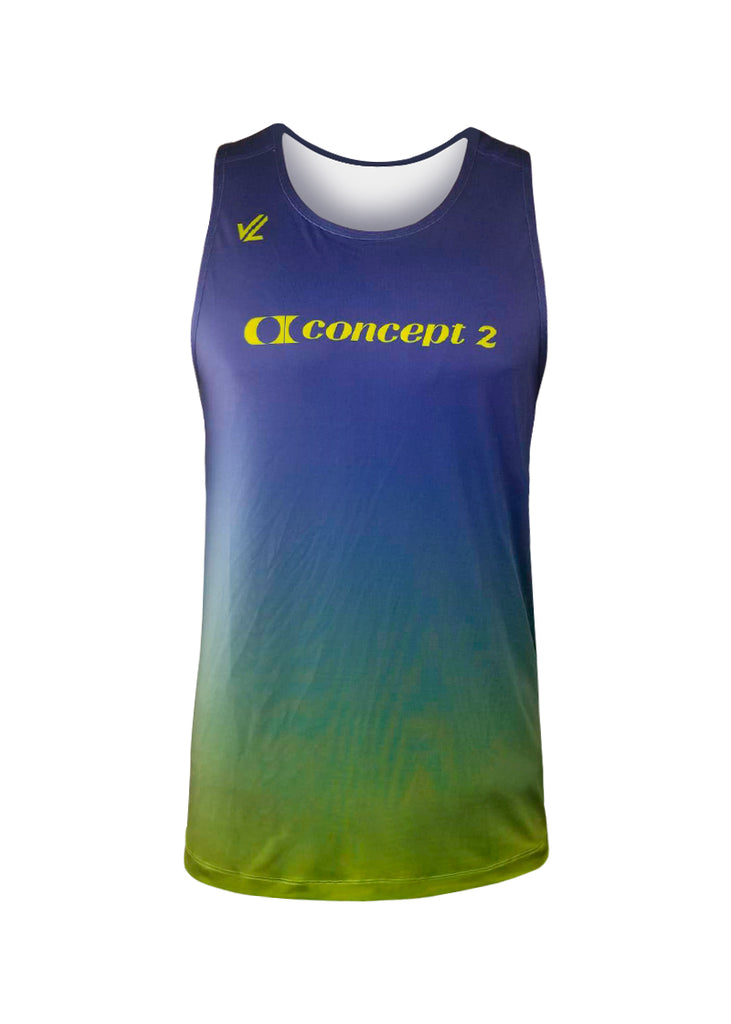 Men's Concept2 Performance Tank Fade