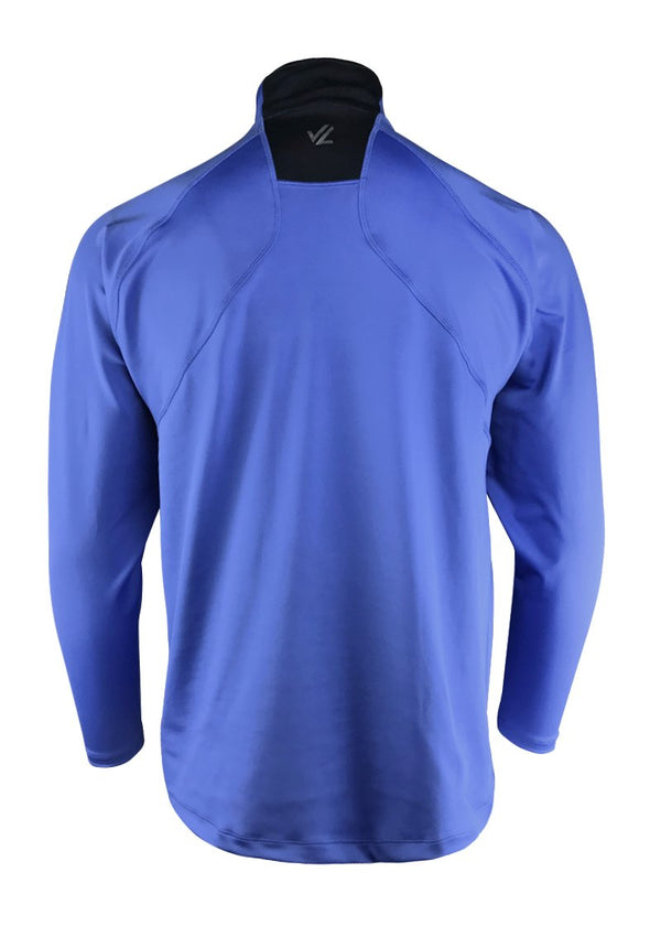 Men's Thermo-light Performance Quarter Zip Baja Blue/Steel