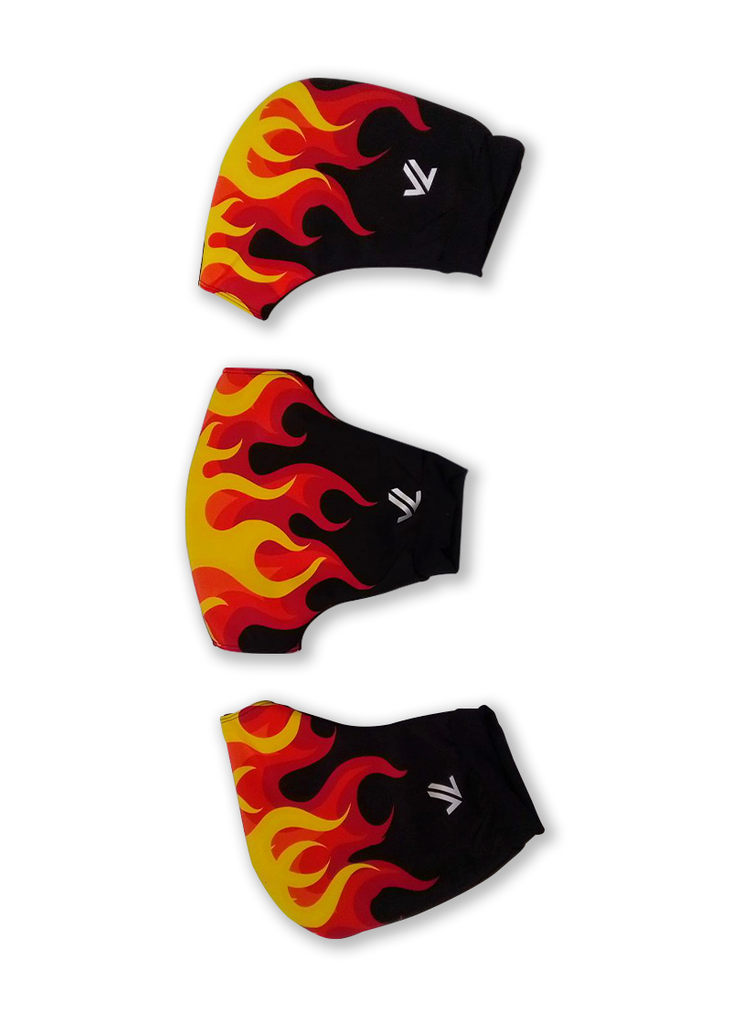 Flaming Hot Three Piece Pogie Set