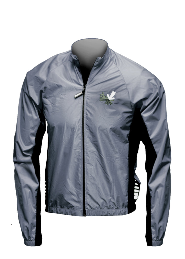 Full Zip Wind Jacket Carbon