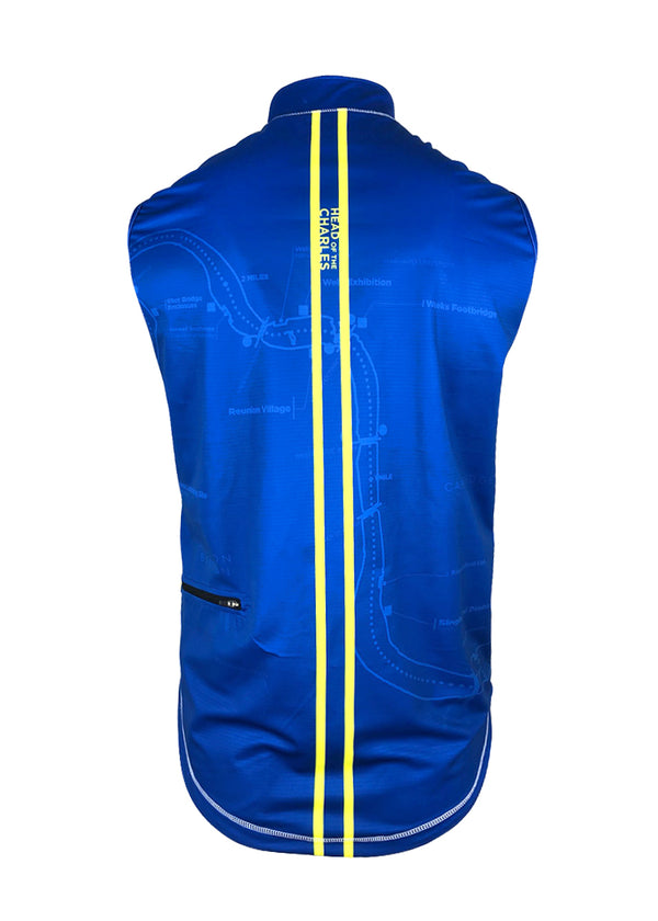 Men's HOCR Sequel Turtleshell Vest Royal/Yellow