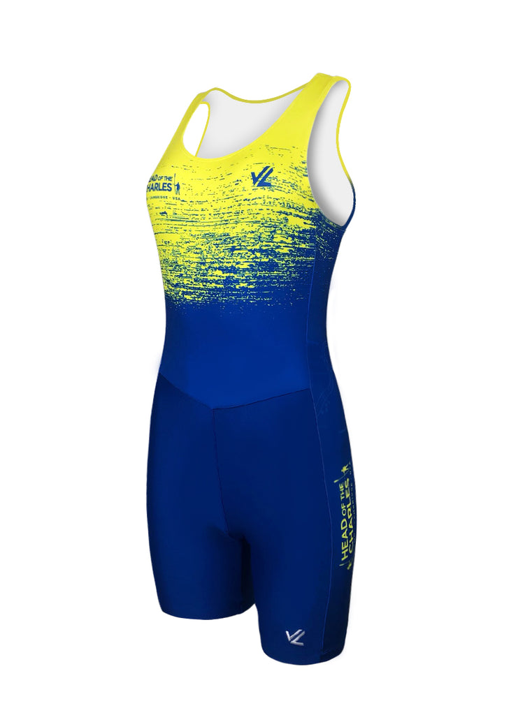 Women's HOCR Unisuit Royal/Yellow