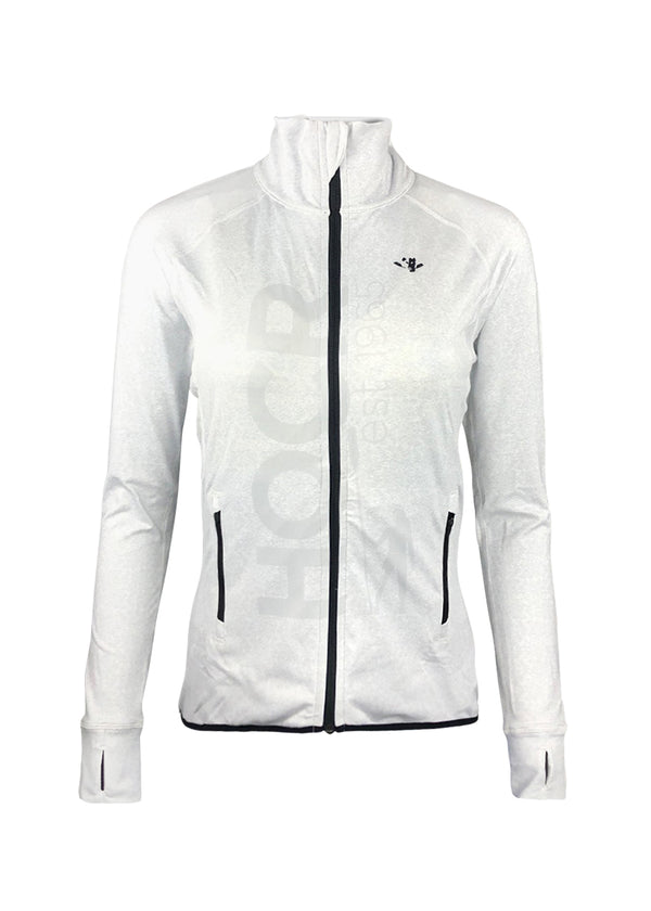 HOCR Women's Scallop Jacket Heather Grey