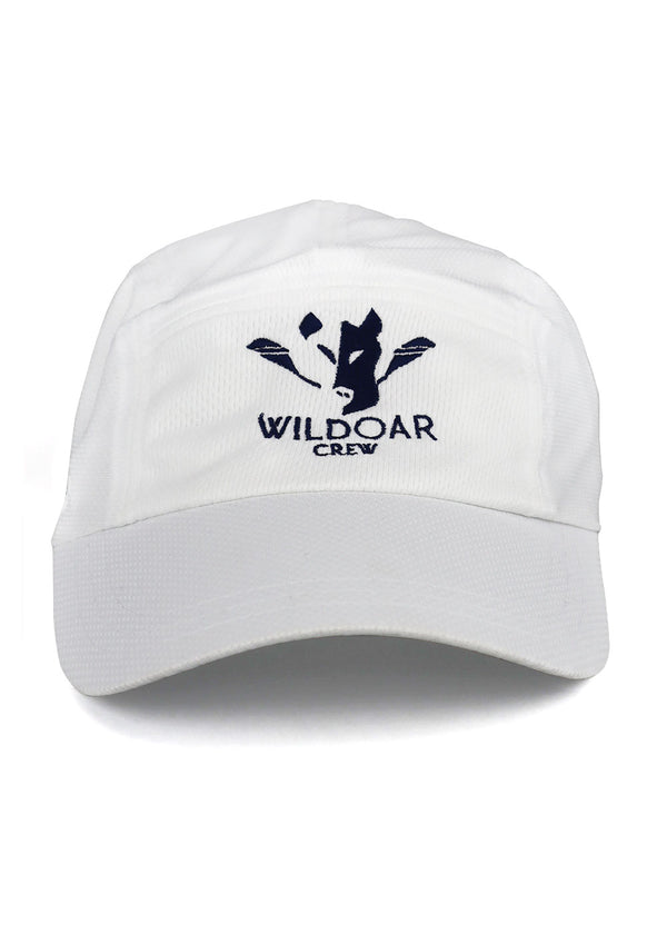 Wild Oar Running Hat White
