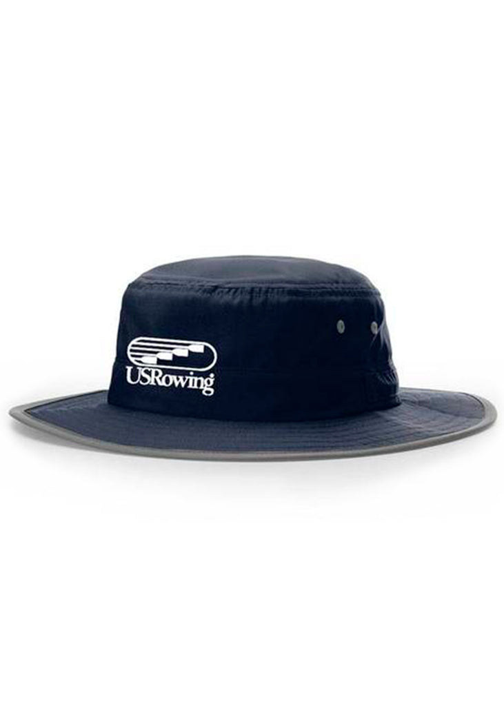 USRowing Bucket Hat Navy