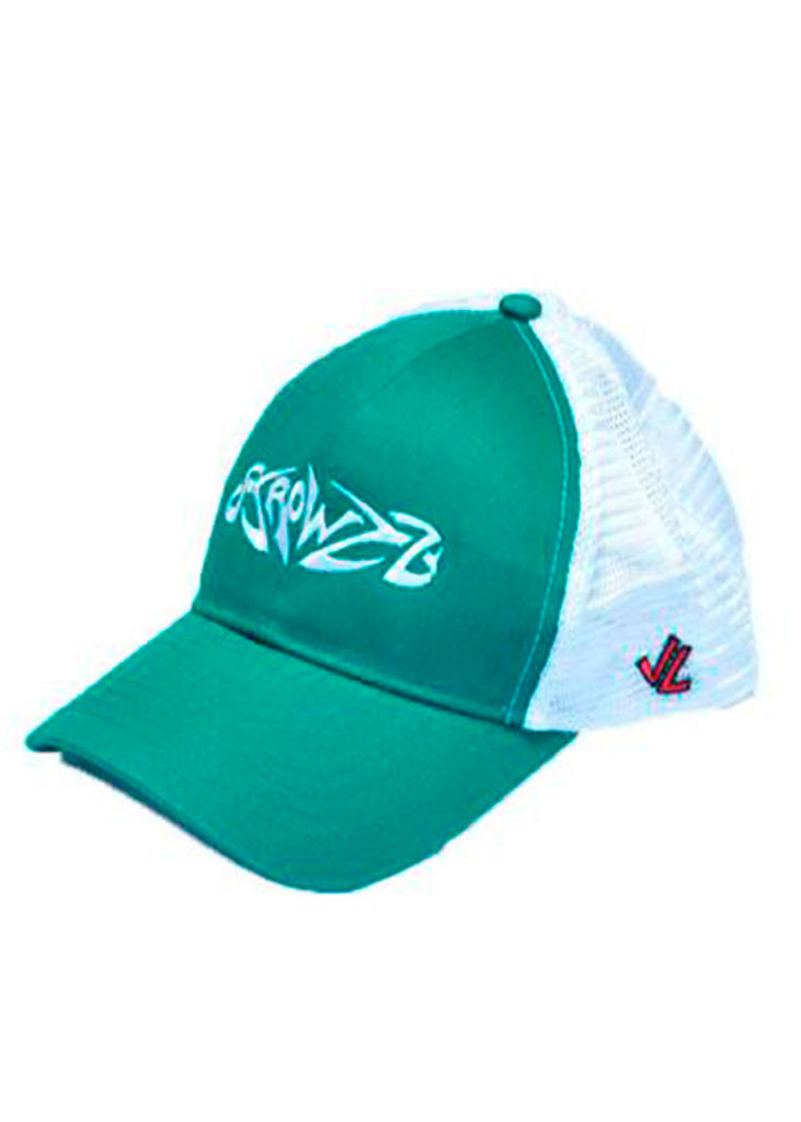 Logo Trucker Green/White