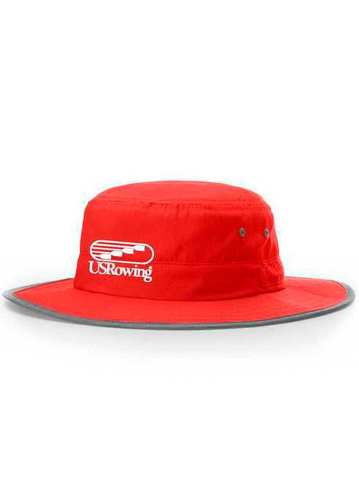 USRowing Bucket Hat Red