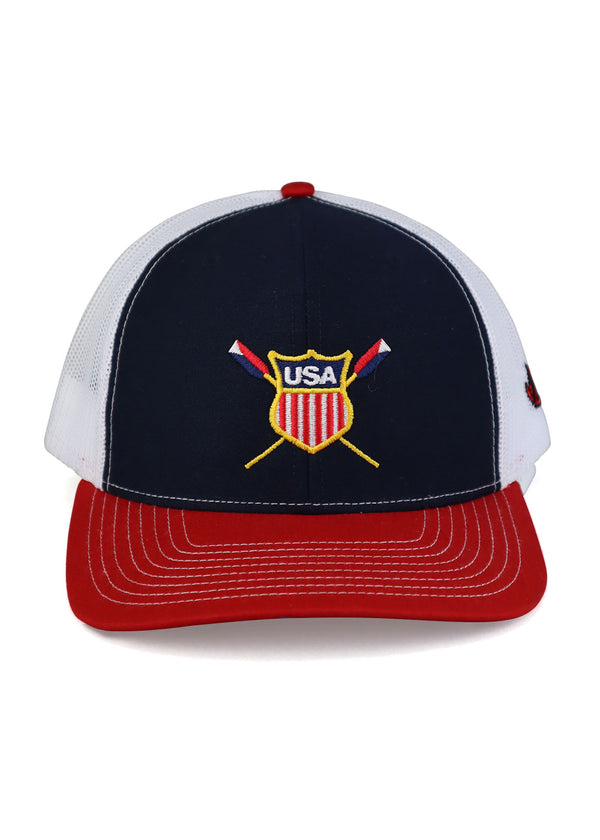 USRowing Logo Trucker