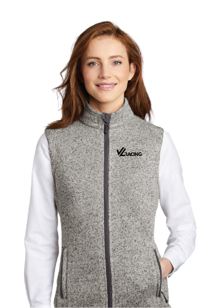 Women's Full-Zip Sweater Fleece Vest