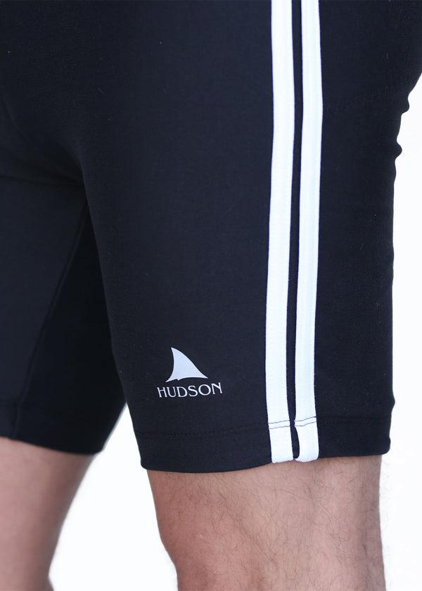 bottoms tights trou workout pant sweats sweatpants shorts capri bibshorts HUDSON Men's Shark Logo Trou Hudson $10-$50, Bottoms, Men's, Original Trou, Trou $39.95 Size Small  JLAthletics