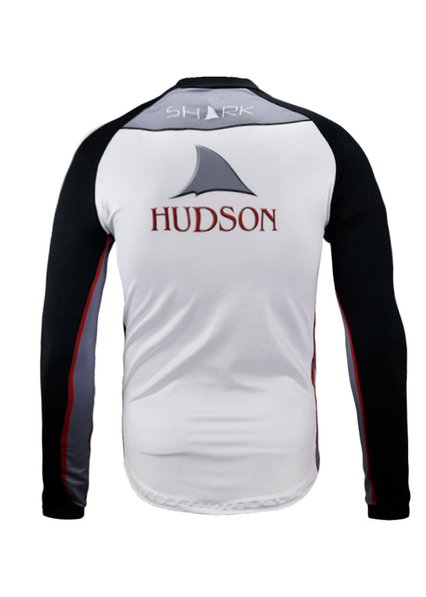 HUDSON Long Sleeve Zip Tech