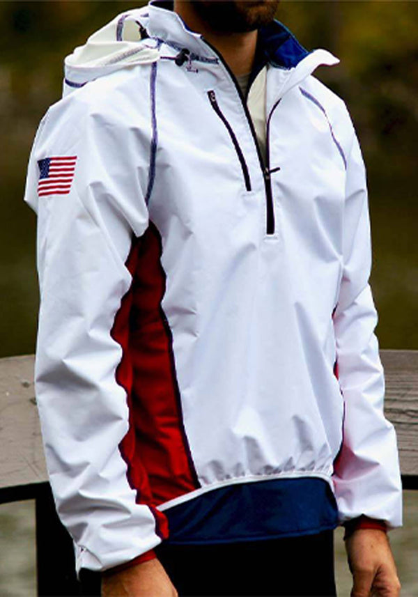 Tech Shirts Technical Shirts Performance Top Performance Tank Workout Top Long Sleeve Short Sleeve Tshirt JL Classic Sequel Jacket White JL Racing $100-$200, Men's, Outerwear, Rowing Jackets, Tops, Women's $119.95 Size XSmall  JLAthletics