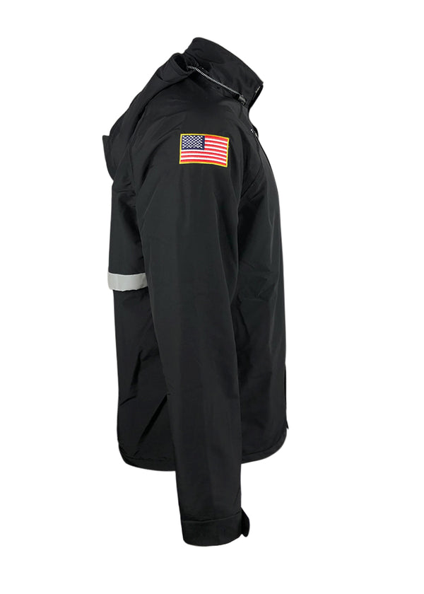 Waterproof Heavyweight USA Regatta Jacket Black