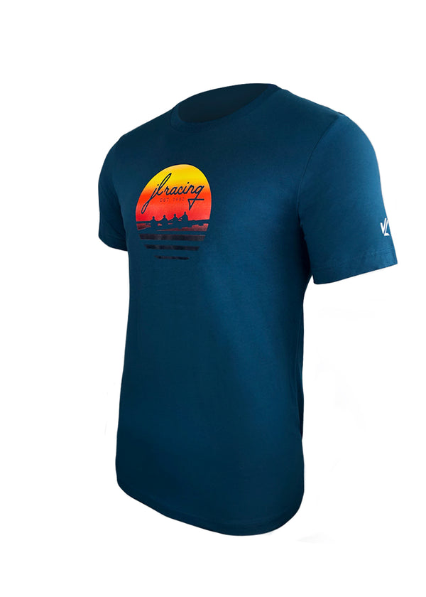 Men's Sunset Short Sleeve Tee Teal