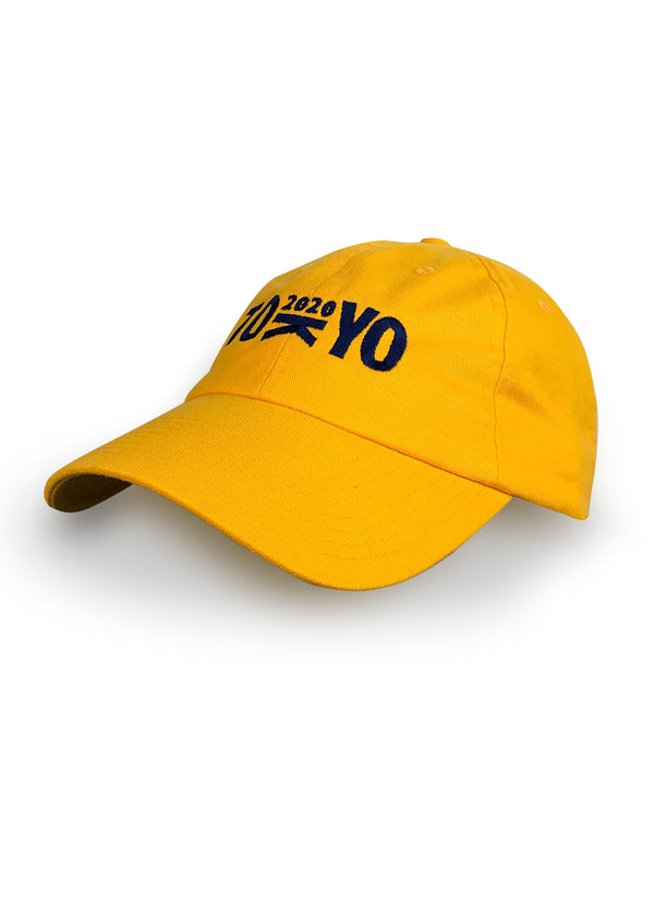 Tokyo 2020 Washed Chino Hat Yellow JL Racing $10-$50, Accessories + Warmers, Casual, Hats + Headbands, JL Hat, Men's, Women's $24.95 JLAthletics
