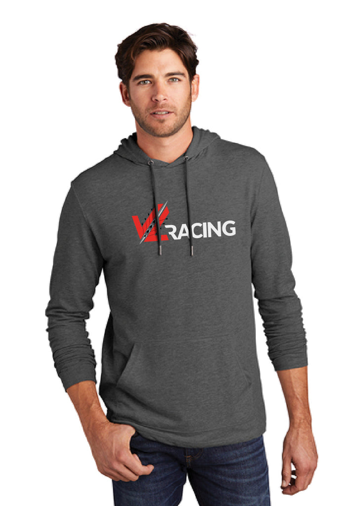 JL Racing Lightweight Charcoal Grey Hoodie